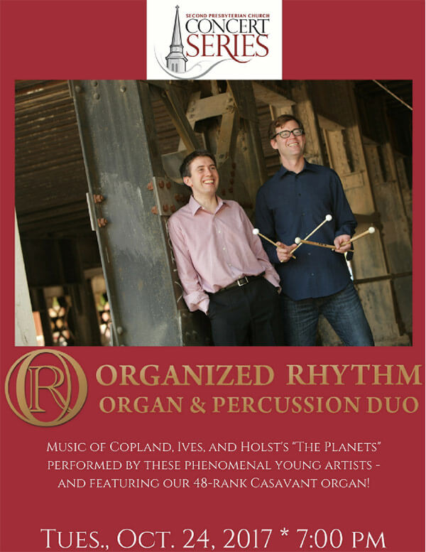 Organized Rhythm Organ & Percussion Duo